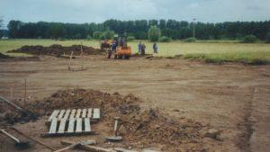 Baubeginn des Gemeindehauses