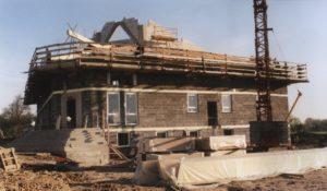 Baustelle unseres Gemeindehauses