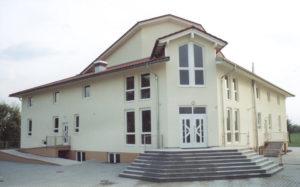 Fertigstellung des Gemeindehauses
