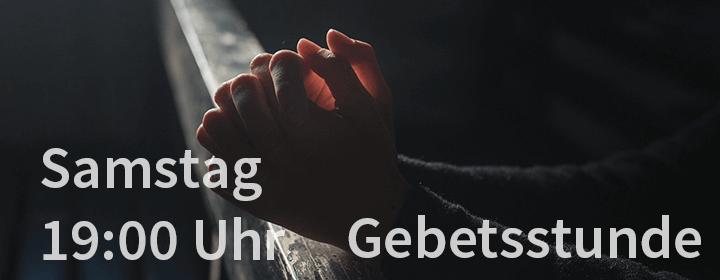 Gebetsstunde - Klicken um Details anzuzeigen