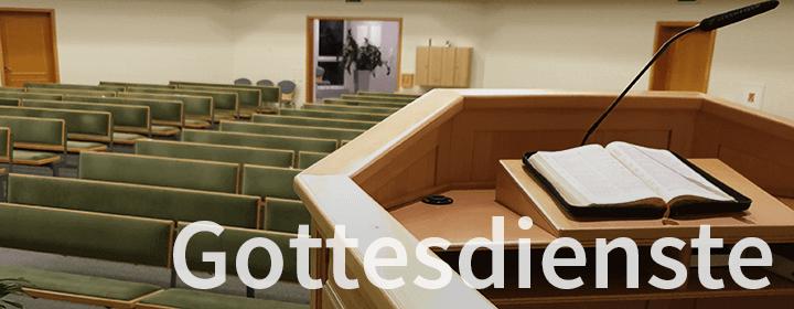 Reguläre Gottesdienste